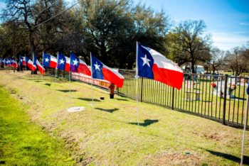 Sponsor a Texas Hero Flag